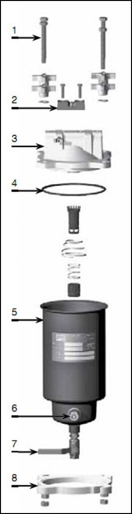 фильтр сепаратор длятоплива