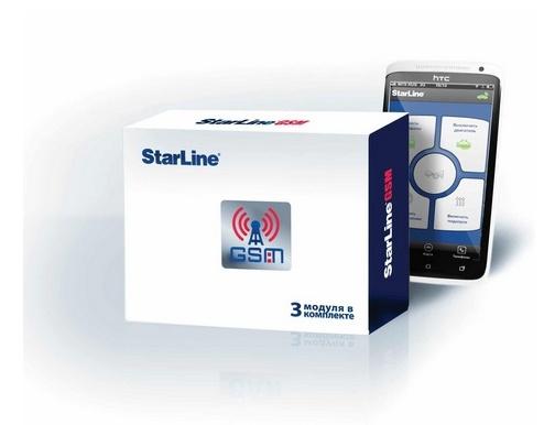 Автосигнализация GSM модуль Starline Master