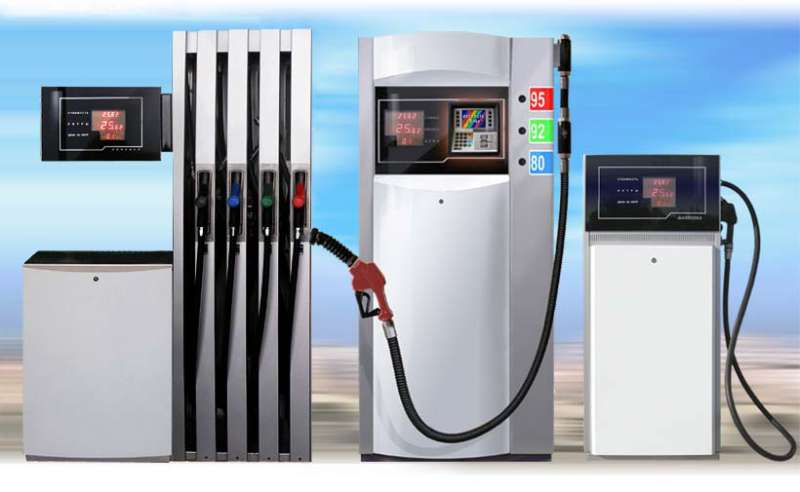 Топливораздаточные колонки АЗС.