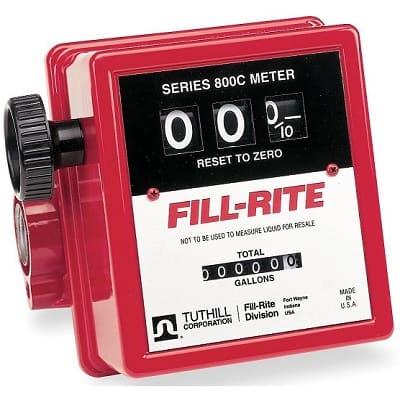 Счетчик 807 (19-75 л/мин.) дляучета дизельного топлива, бензина, керосина (Tuthill Fill-Rite)