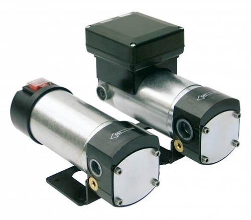 Электрический шестеренчатый насос дляразличных масел Viscomat 60/2 снапряжением постоянного тока— 24Вили 12В